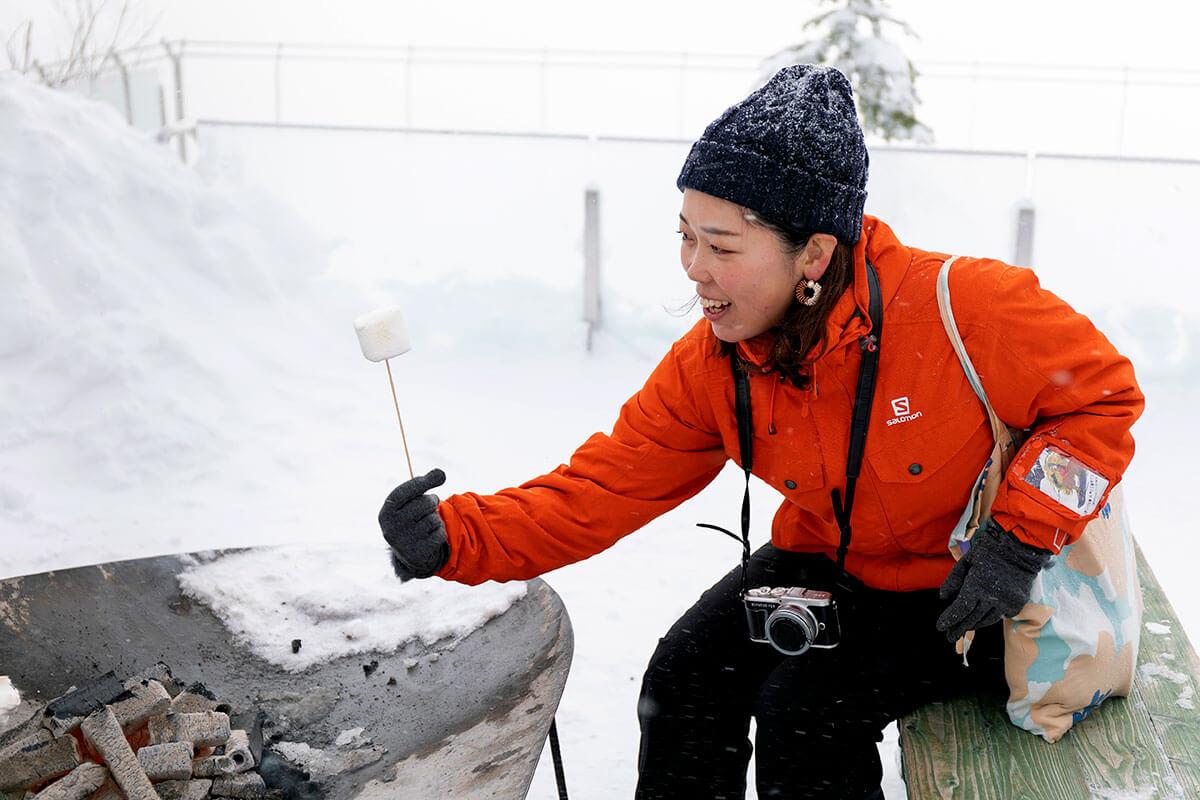 焼きマシュマロ300円もあるので、温まりながら楽しむのもおすすめです!
