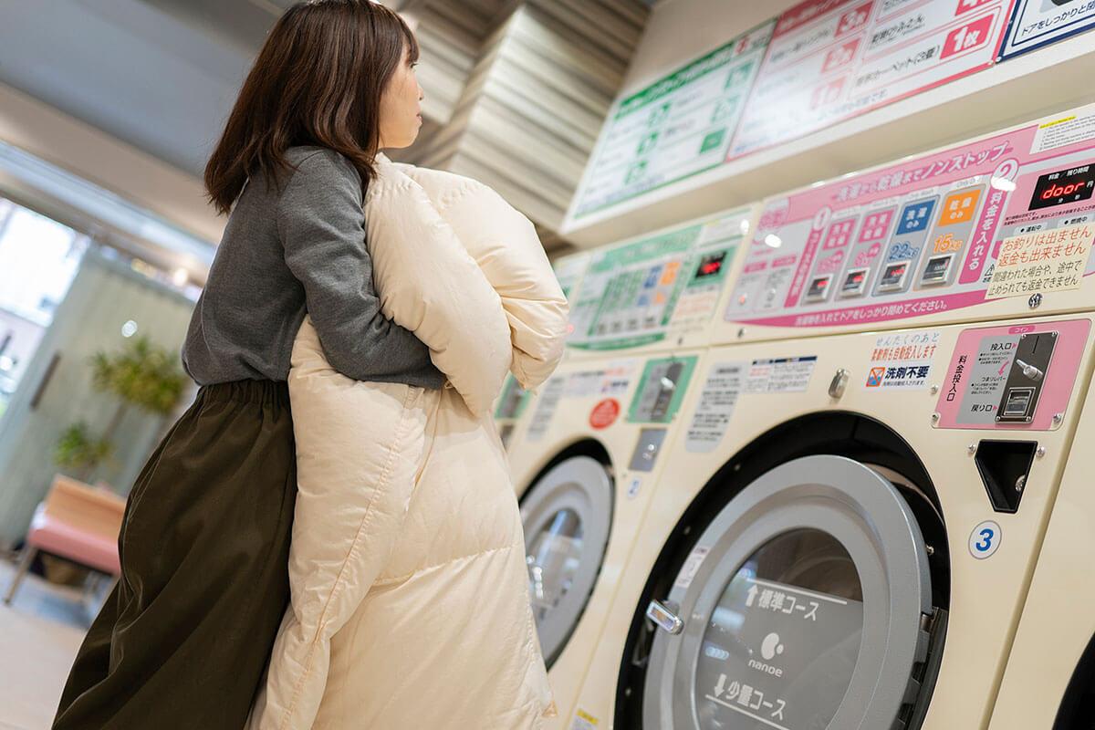 容量の目安以外にも、毛布なら何枚、羽毛布団なら何枚、と目安が書かれています