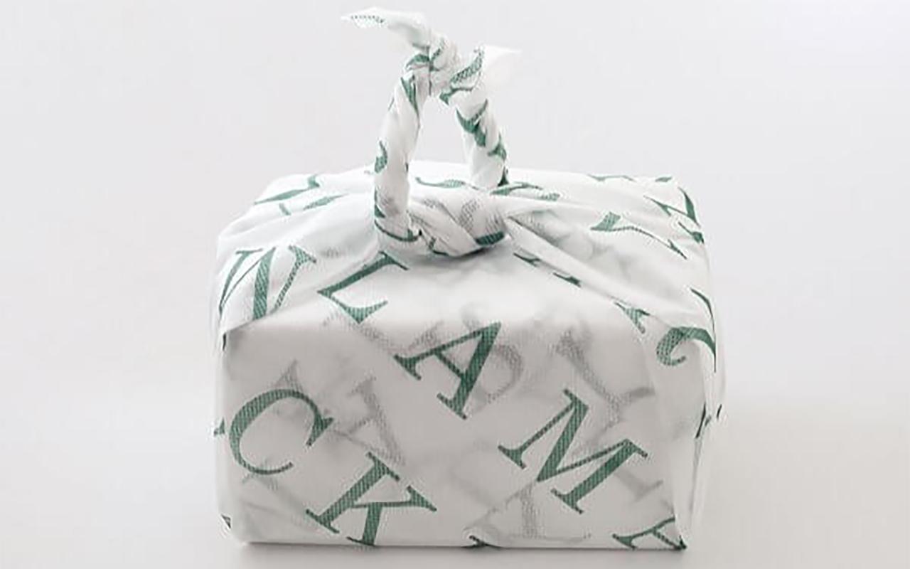 見た目にもかわいい風呂敷包み