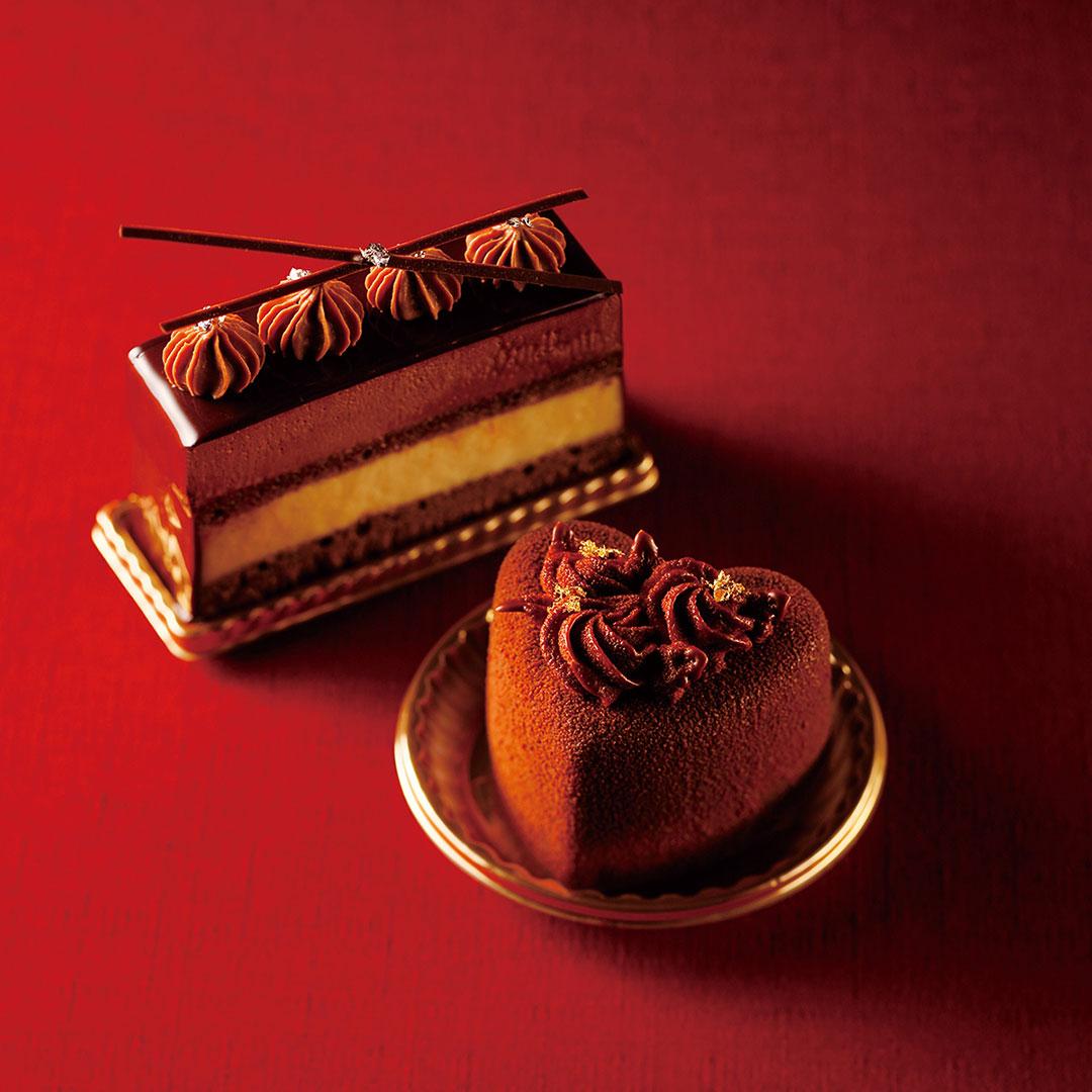 [レックコート]テイクアウト / バレンタインカットケーキ 各¥648 (10:00~19:00 )