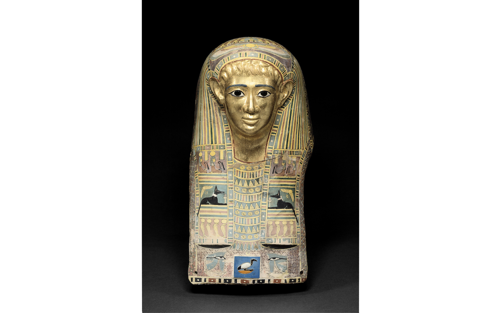 パレメチュシグのミイラ・マスク/後50 〜後100年頃© Staatliche Museen zu Berlin, Ägyptisches Museum<br /> und Papyrussammlung/M. Büsing