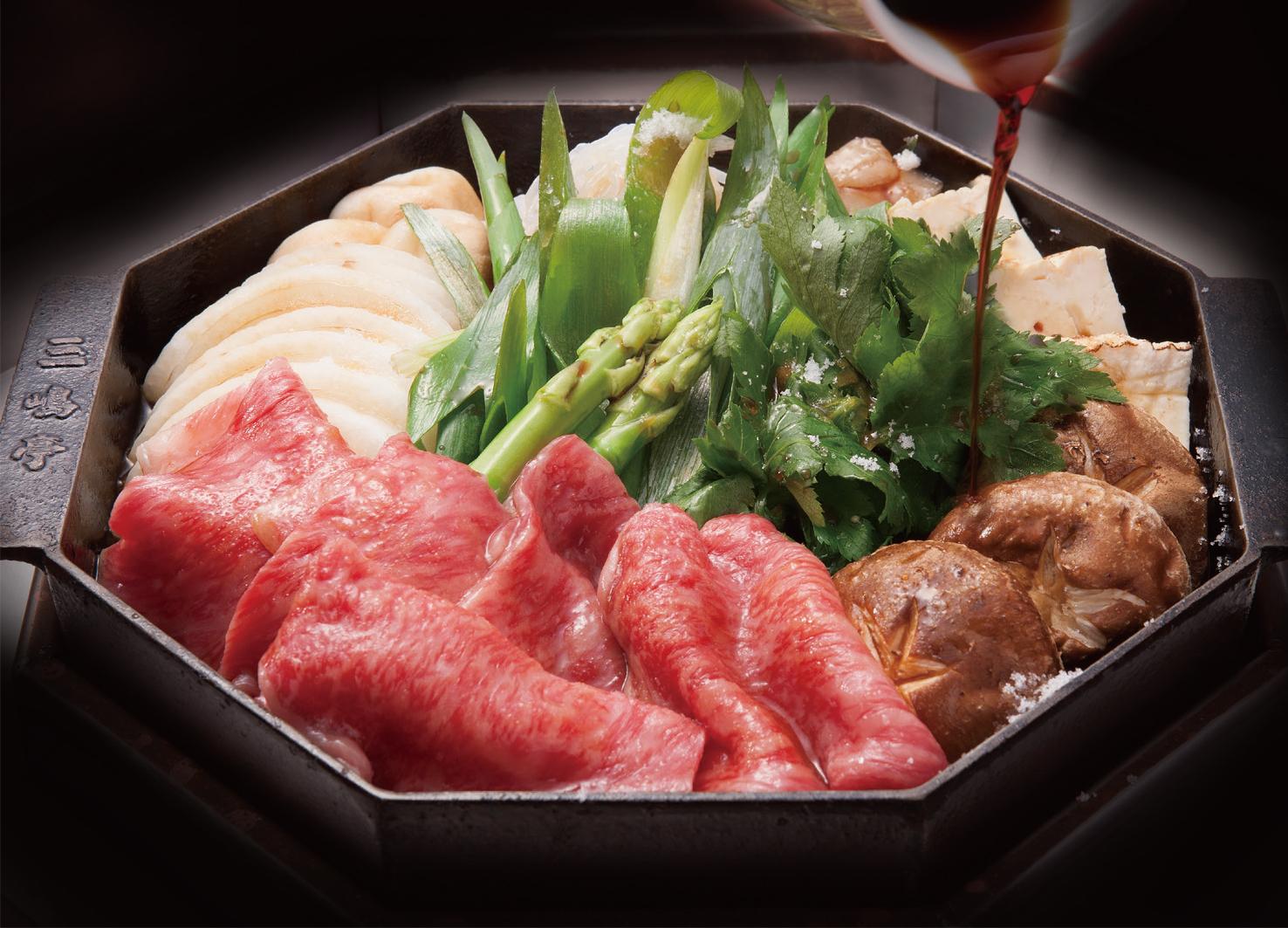 【三嶋亭】京都肉すき焼きセット