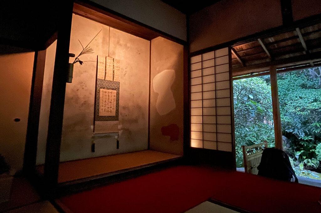 妙心寺の茶室