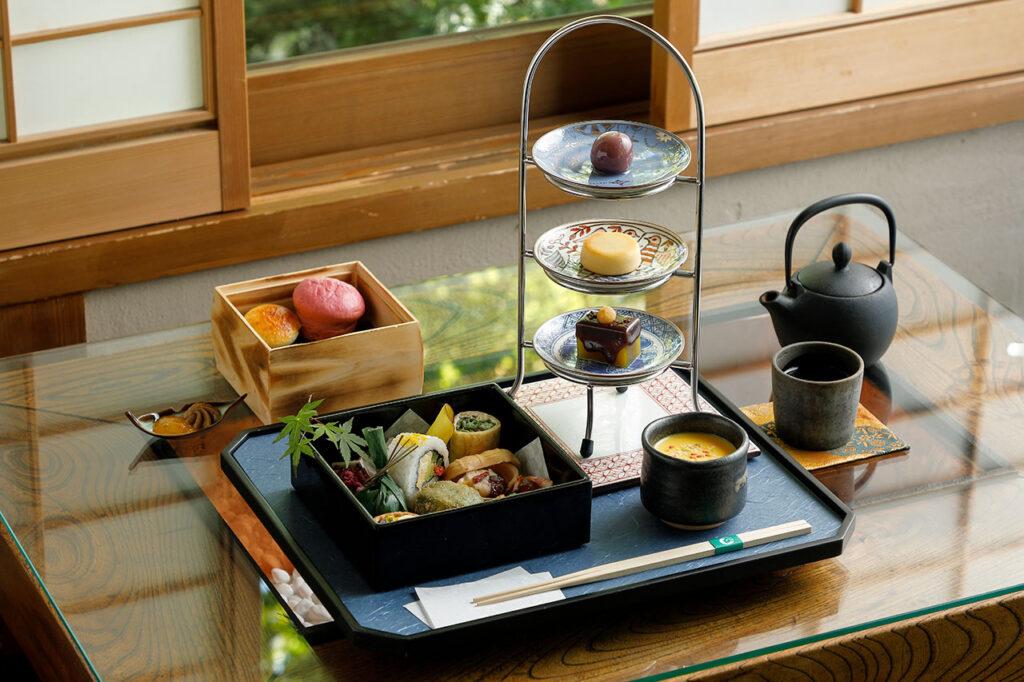 翠嵐 ラグジュアリーコレクションホテル 京都のアフタヌーンティー