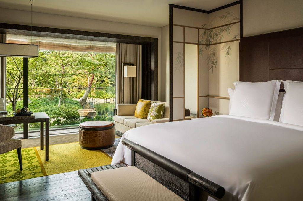 フォーシーズンズホテル京都の客室