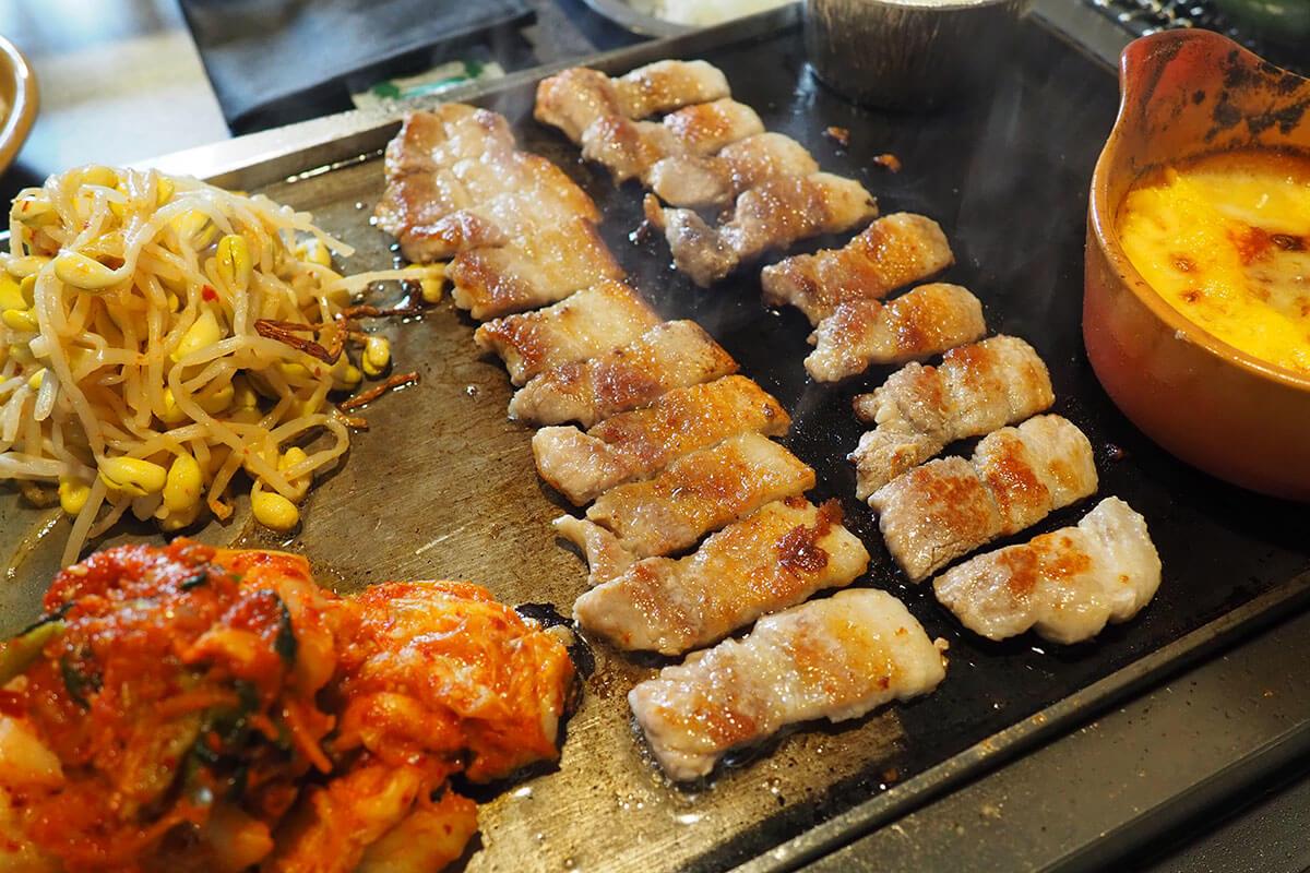 四条烏丸の[ベジテジや]でパワーアップした韓国料理の数々を堪能