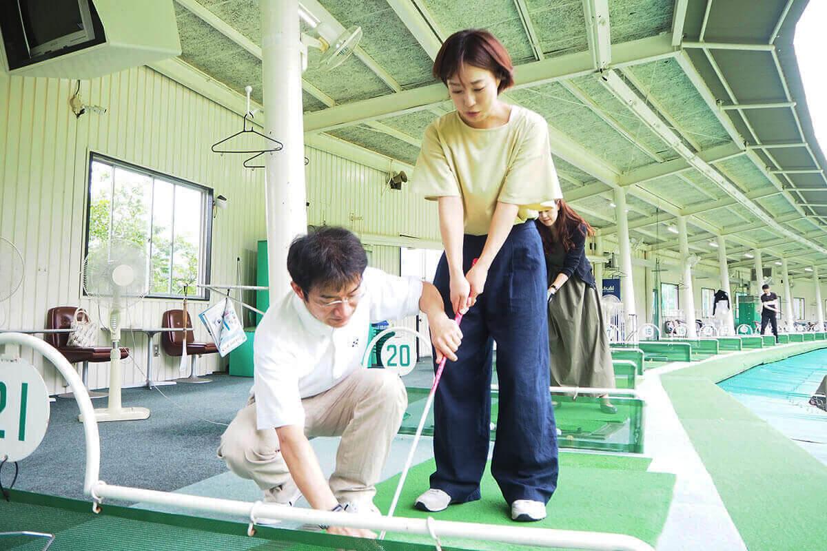 9割がゴルフ初心者さんのゴルフレッスンがおすすめ