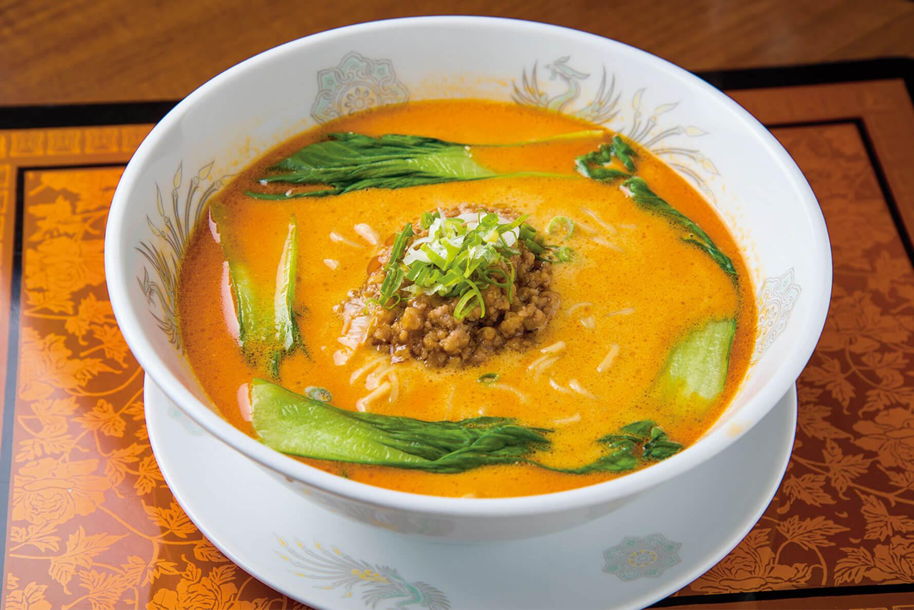 今月のランチ vol.11 担々麺