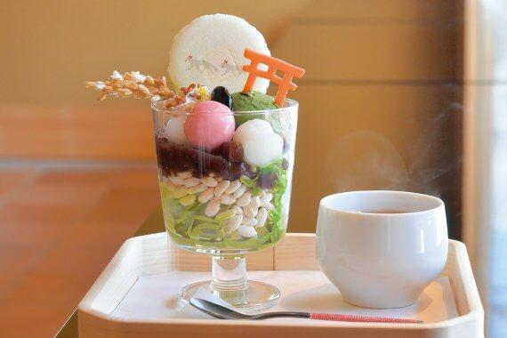 京都で食べたい 和パフェ