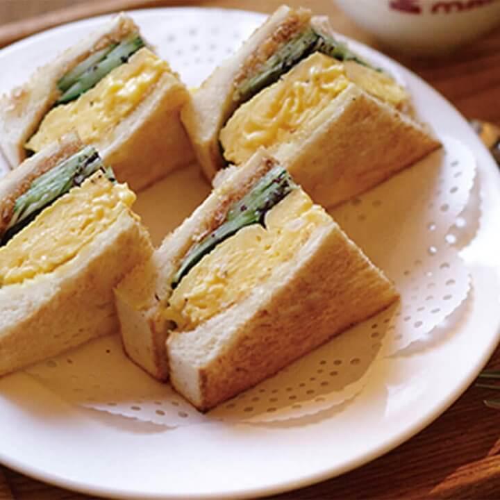 ブーム到来!サンドイッチ