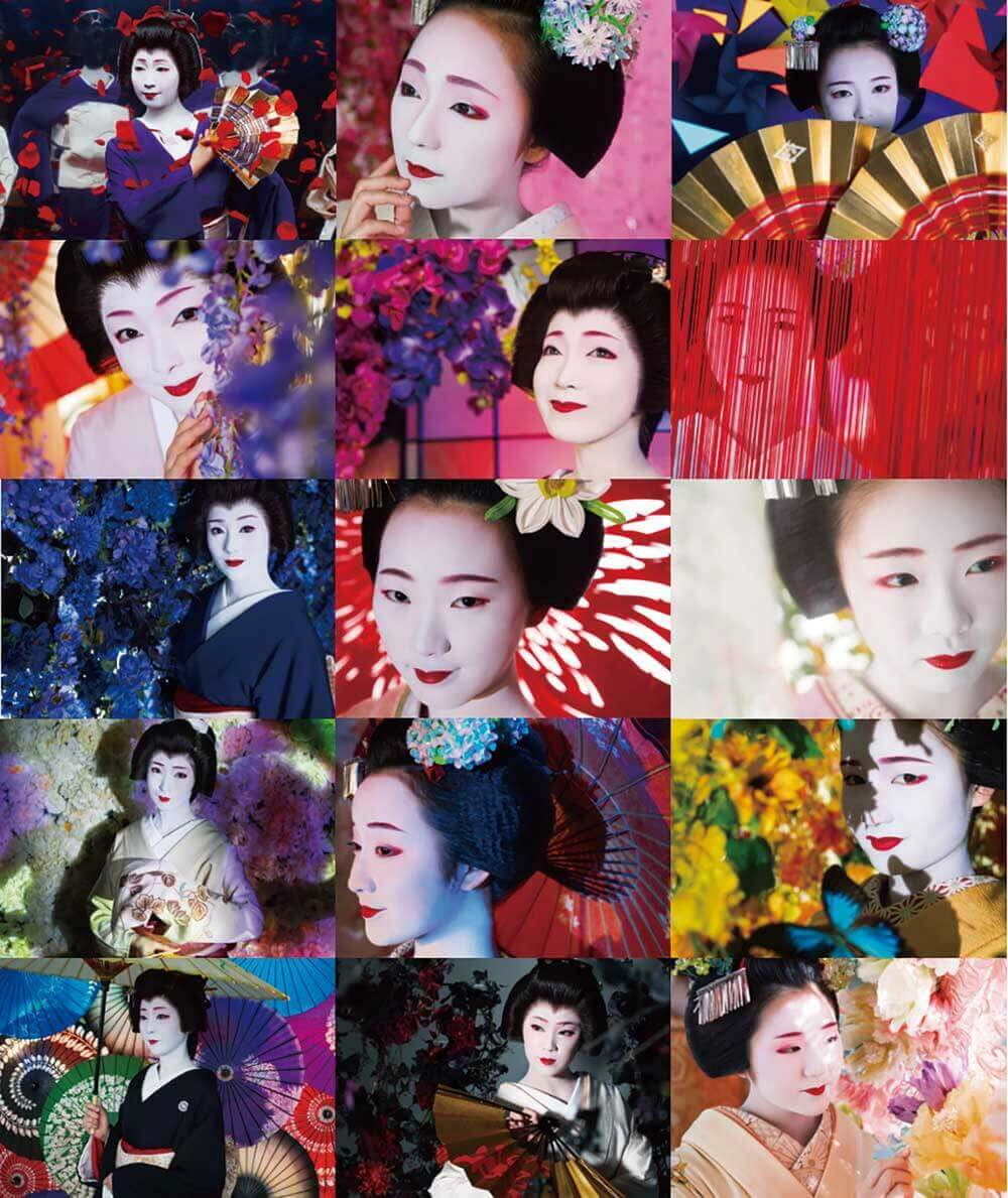 15名の芸妓舞妓©mika ninagawa, artbeat publishers