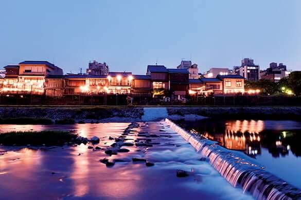 京都の川床