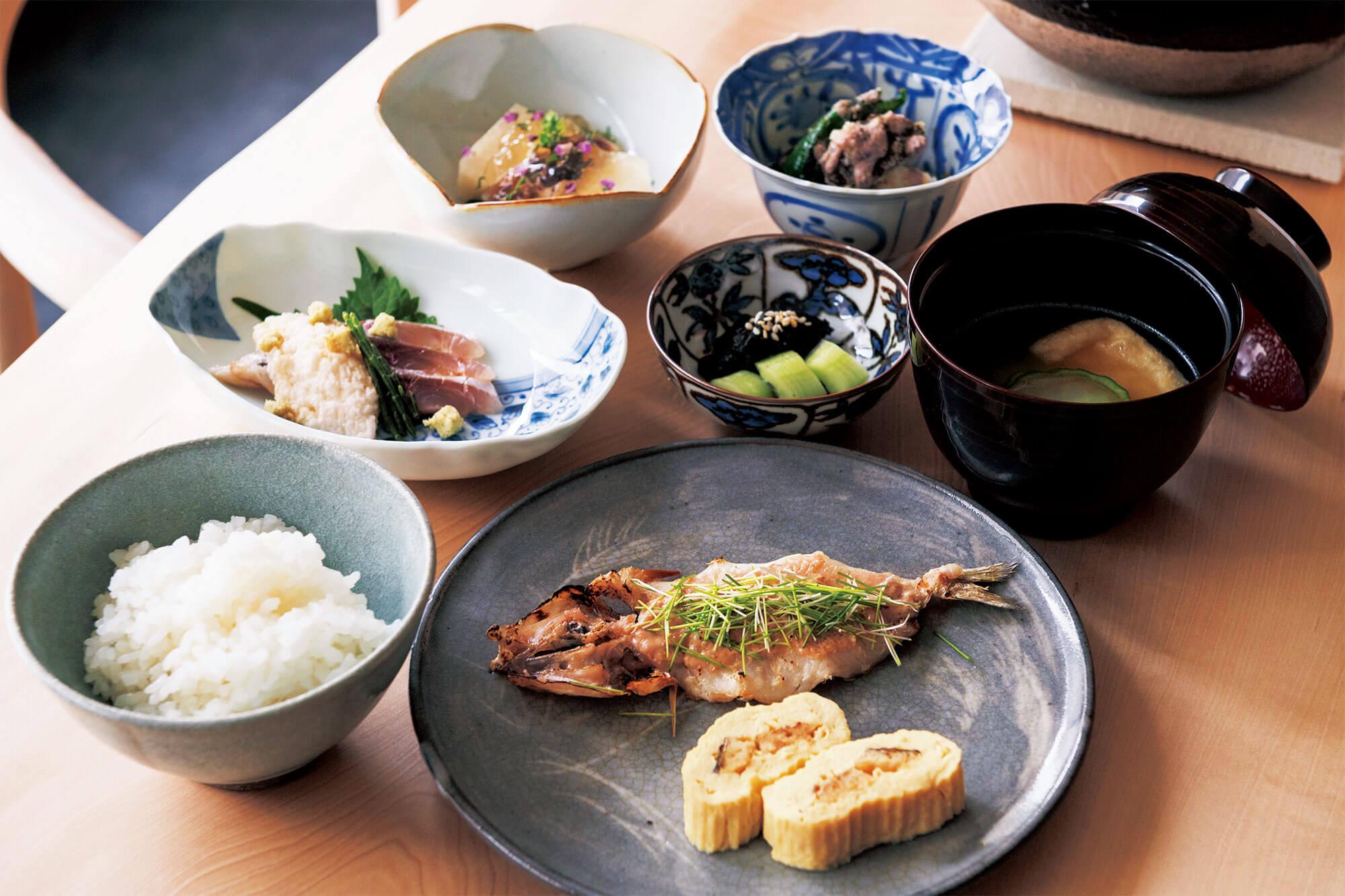 京都のとっておき朝ごはん 和食編