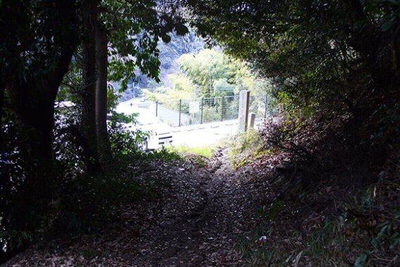 逸話を残す京の小径「歌の中山清閑寺」