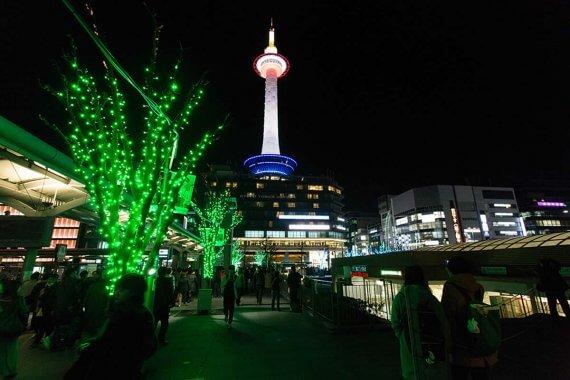 光あふれる演出が話題!京都駅周辺のイルミネーション「ときめきプロジェクト」スタート