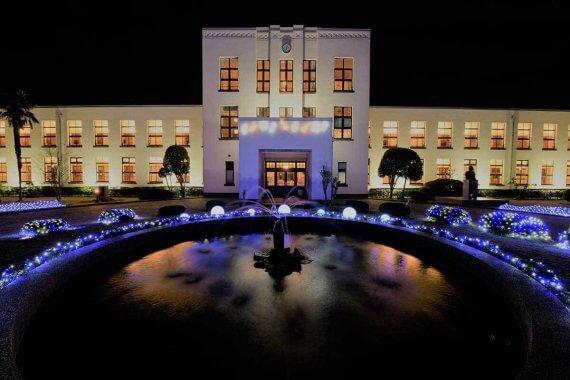 豊郷小学校旧校舎群ライトアップ&イルミネーション(11/16〜12/25)@豊郷小学校旧校舎群