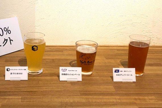 京都産原料を使ったクラフトビールの試作品を府内3ブルワリーが数量限定発売!