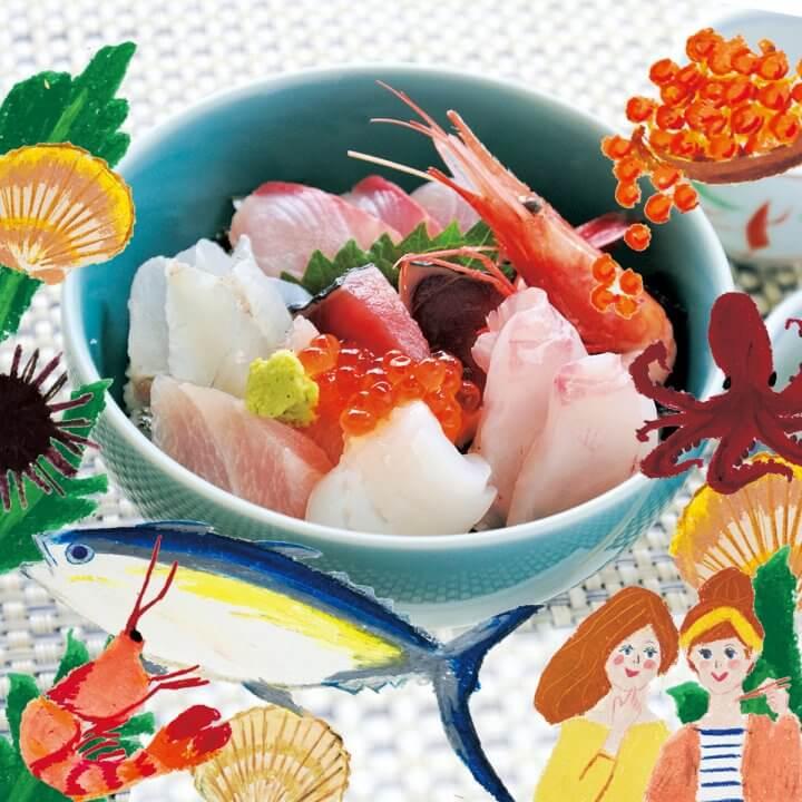 今月のランチvol.9 海鮮丼