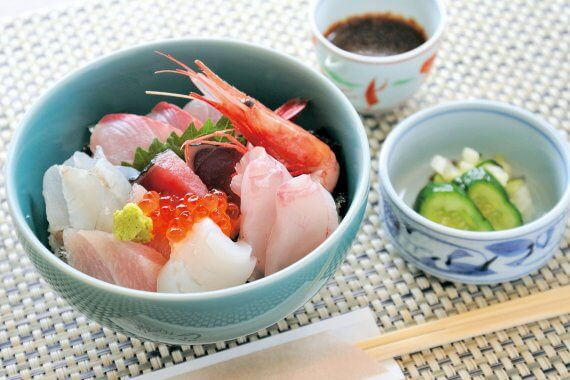 京都・滋賀のランチvol.9 海鮮丼