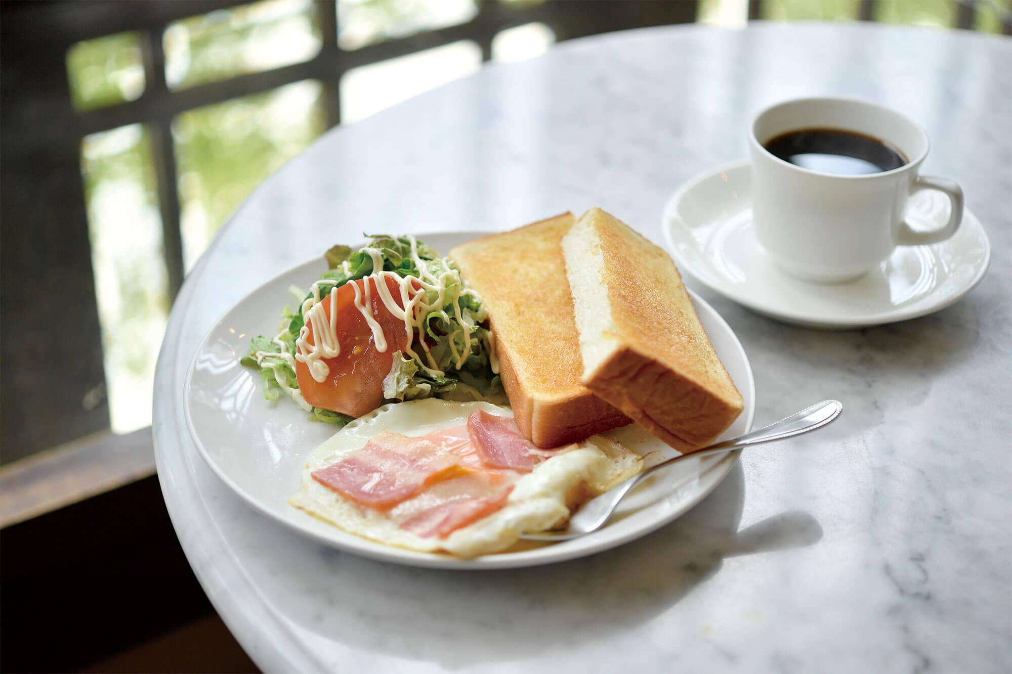京都のとっておき朝ごはん 喫茶店編