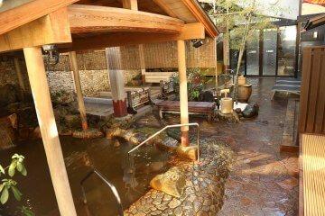 京都市内にある天然温泉「天山の湯」へ!