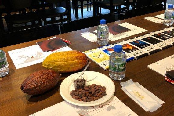 リンツ、チョコを五感で味わうセミナーを京都では1年ぶりに開催