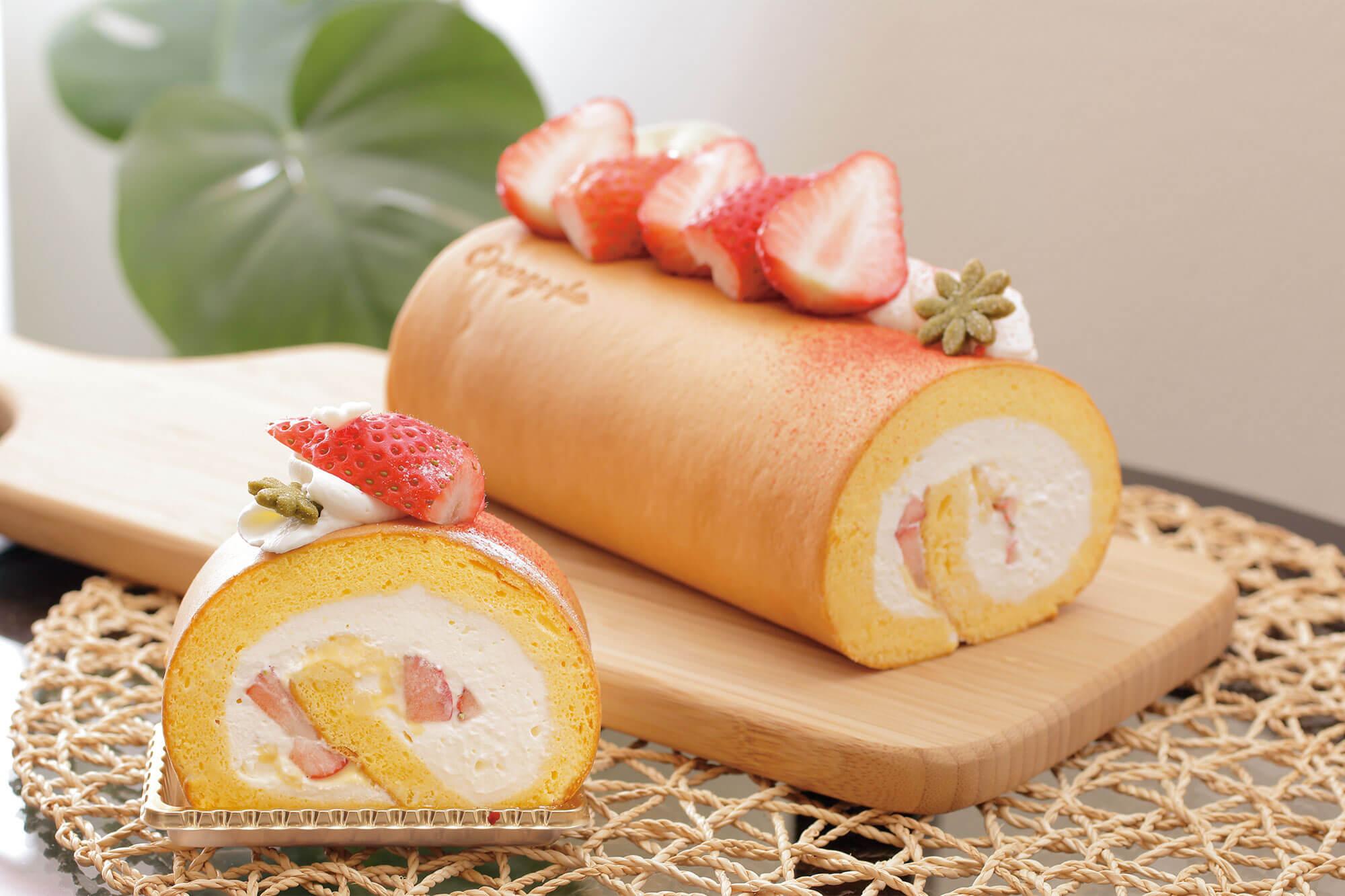 今月のおやつ vol.9「ロールケーキ」