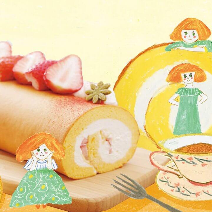 今月のおやつvol.9 ロールケーキ