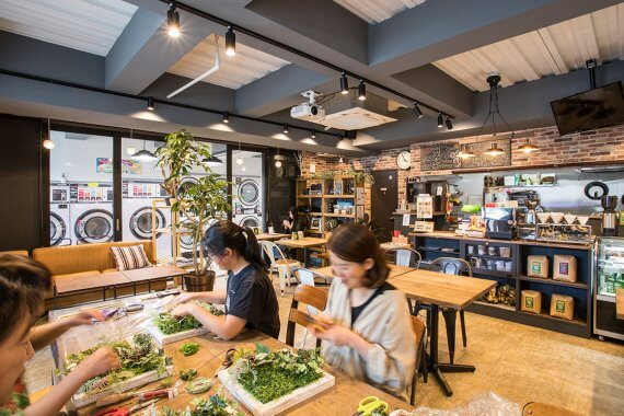 『KYOTO LAUNDRY CAFE』がオープン