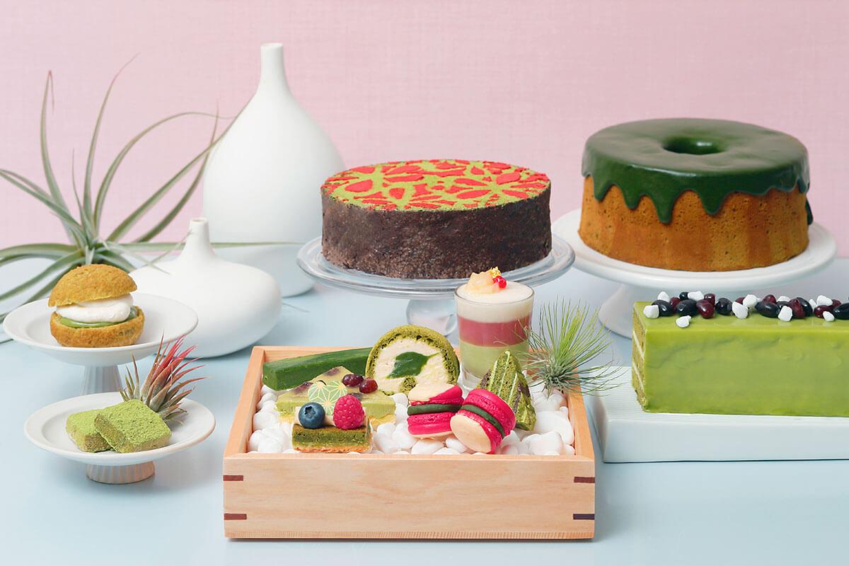 京都のホテルで開催される抹茶スイーツビュッフェ&お茶グルメフェア情報