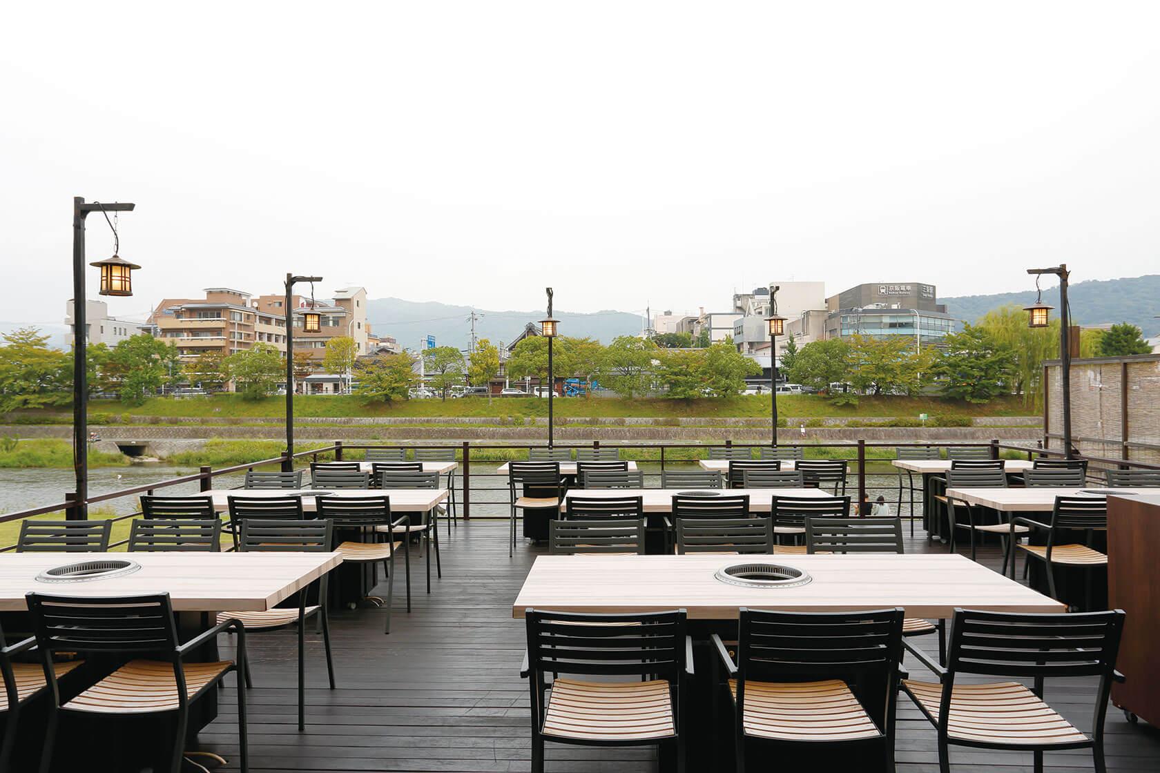 京都川床[京の焼肉処 弘]三条木屋町店