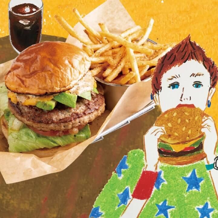 今月のランチ vol.12 ハンバーガー