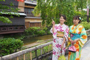 浴衣レンタルして京都散策を楽しんでみた!