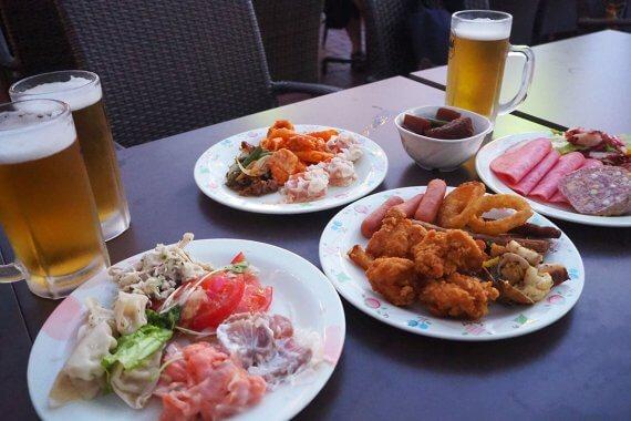 食べ放題・飲み放題!「ホテル京阪 京都 グランデ」の屋上ビアガーデンを満喫