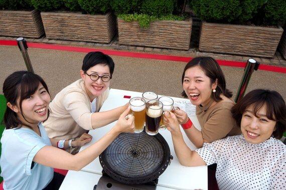 四条烏丸から一番近い! 大丸京都店のビアガーデンで京都地ビール&BBQを堪能してみた