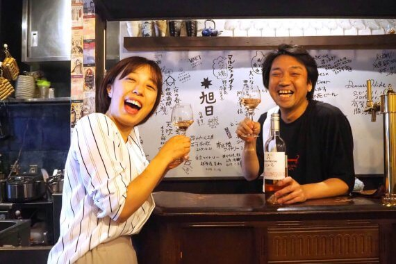 日本ワイン目当てに飲みに行ったら、まさかのロゼワインにハマって帰ってきた!