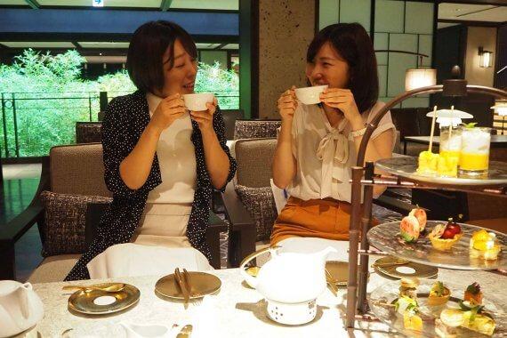 三条駅前の「京都悠洛ホテル Mギャラリー」で憧れのランチ&アフタヌーンティーを満喫してきた!