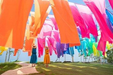 この夏はランプパフェ&虹のカーテンがある「箱館山」へ!