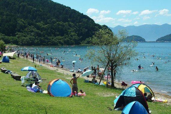琵琶湖で泳いで夏を満喫!湖水浴ができるスポット6選