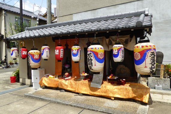 京都に夏の終わりを告げる「地蔵盆」
