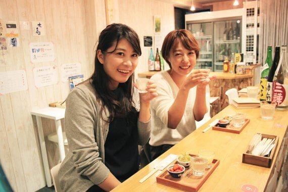 日本酒ビギナー・おひとりさま女子大歓迎の[おさけcafe petit*petit]にいってみた!