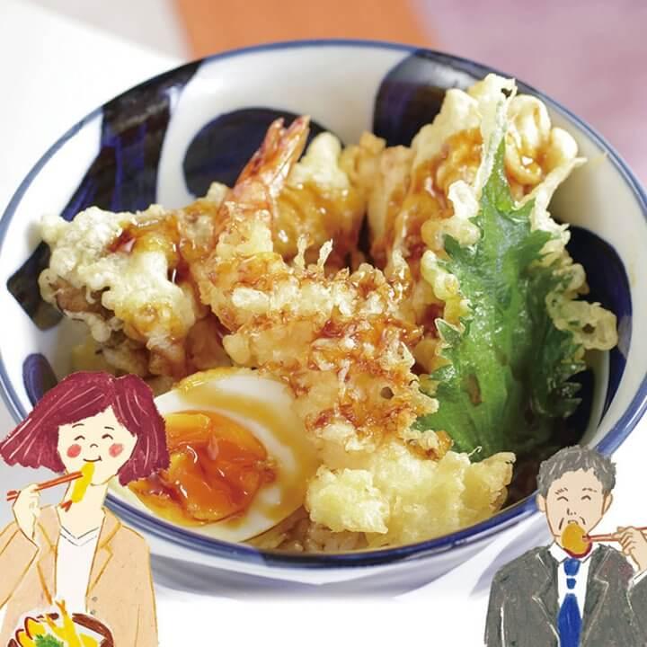 今月のランチ vol.18 天ぷら・天丼