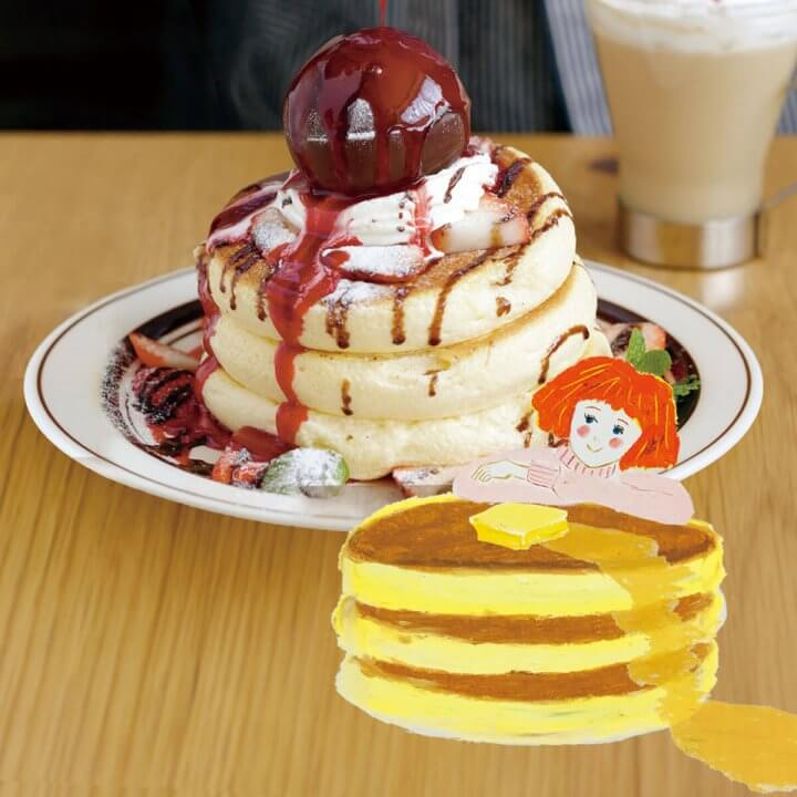 今月のおやつ vol.17 パンケーキ
