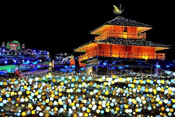 光のページェント TWINKLE JOYO 2019(12/1〜25)@城陽市総合運動公園