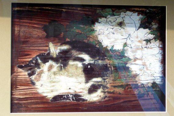 夜な夜な絵馬から抜け出す、光清寺の浮かれ猫/京都の摩訶異探訪