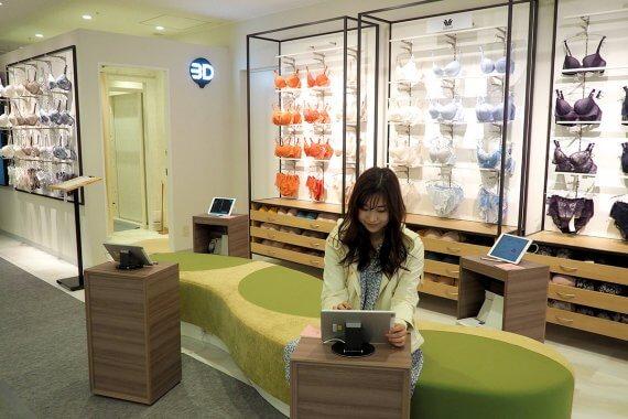 ワコールの新サービス「3D smart & try」は、たった5秒で全身を立体スキャン!ジェイアール京都伊勢丹に新登場