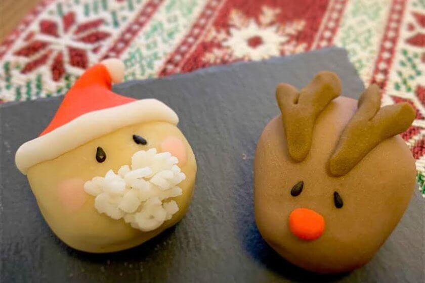 和菓子職人が教える「クリスマス和菓子作り体験」が[CAFETEL(カフェテル)]で開催!参加者募集中