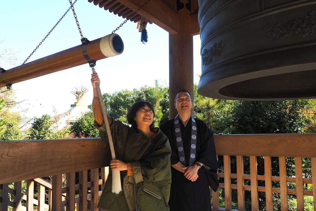 東山浄苑 東本願寺で「除夜の鐘」を撞いてみた!