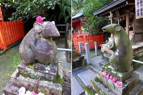 令和の子年、京都・大豊神社で出合う狛ねずみの御利益