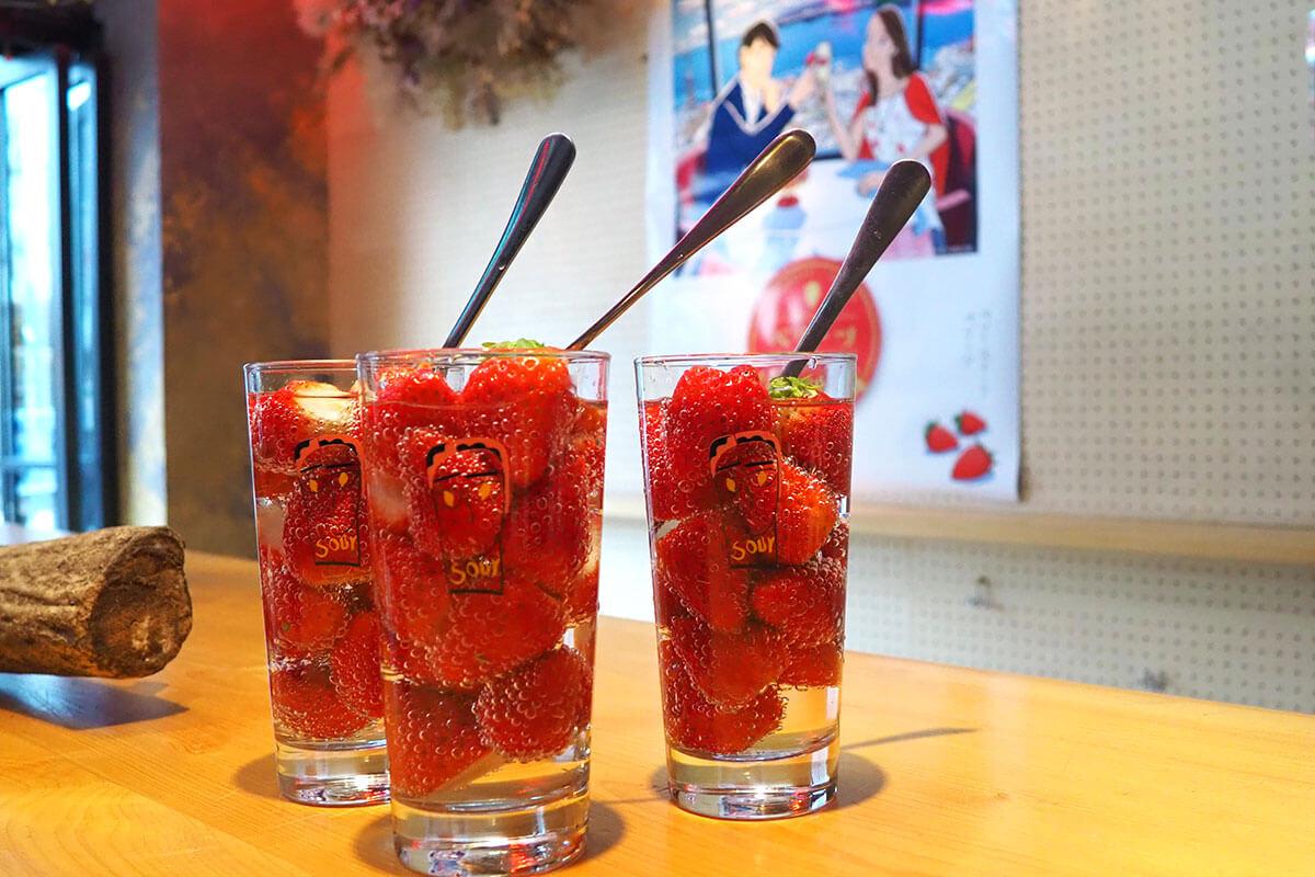大分県産いちご「ベリーツ」と京都の人気店がコラボ